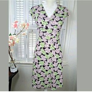 ANN TAYLOR LOFT Floral Wrapdress size 0